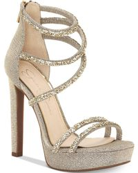 Jessica Simpson - Beyonah Platform Dress Sandals - Lyst
