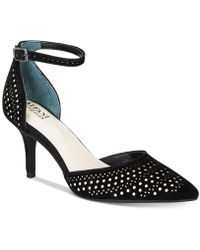 Alfani - Joyy Step 'n Flex Perforated D'orsay Pumps, Created For Macy's - Lyst