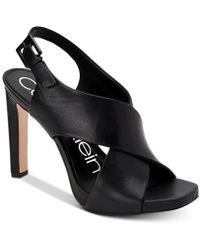 2aa486e952b2 Lyst - Naturalizer Preya Dress Sandals in Black