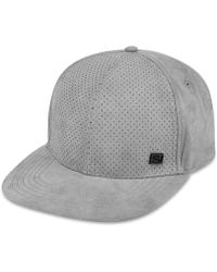 Sean John - Men's Faux-suede Perforated Hat - Lyst