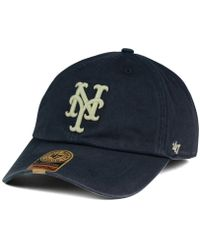 Lyst - American Needle New York Mets Am Foundry Tc Cap in Blue for Men 0d262e69d441