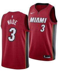 f31b4f2b8 adidas Men's Dwyane Wade Miami Heat Hardwood Classic Swingman Jersey ...