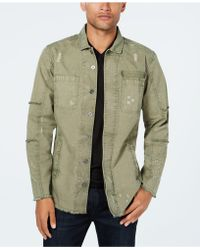 INC International Concepts - Captain Utility Shirt, Created For Macy's - Lyst