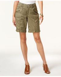 Style & Co. - Cuffed Cargo Shorts, Created For Macy's - Lyst