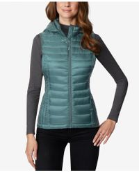32 Degrees - Hooded Packable Puffer Vest - Lyst