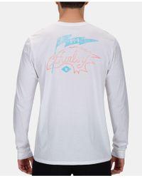 Hurley - Freebirds Graphic T-shirt - Lyst