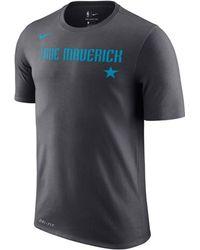 promo code 67d7b 56633 Nike - Dallas Mavericks City Team T-shirt - Lyst