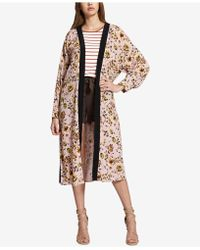 Sanctuary - Calico Floral-print Belted Kimono - Lyst