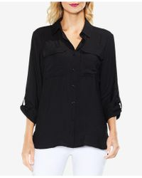 Vince Camuto - Utility Shirt - Lyst