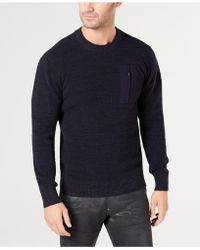 G-Star RAW - Powel Textured Sweater, Created For Macy's - Lyst