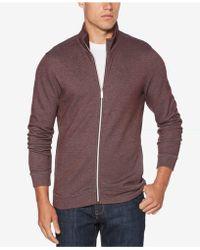 Perry Ellis | Men's Heathered Jacket | Lyst