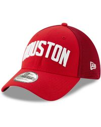 outlet store sale dbc9b 852e2 KTZ Houston Rockets Jersey Script 59fifty-fitted Cap for Men - Lyst