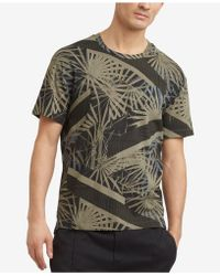 Kenneth Cole Reaction | Palm-print T-shirt | Lyst