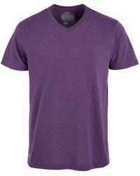 Alfani - Cotton V-neck Heathered Undershirt, Created For Macy's - Lyst