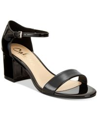 Callisto | Palmer Block-heel Sandals | Lyst
