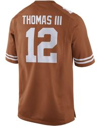 Nike - Men's Earl Thomas Texas Longhorns Player Game Jersey - Lyst