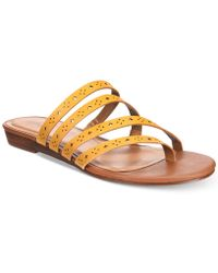 Style & Co. - Barrees Strappy Flat Sandals, Created For Macy's - Lyst