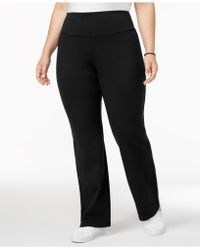 Style & Co. - Plus Size Tummy-control Boot-cut Yoga Trousers - Lyst