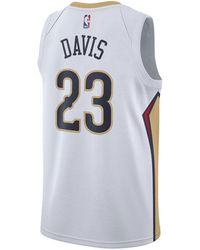 087b27b57 Nike - Anthony Davis New Orleans Pelicans Association Swingman Jersey - Lyst