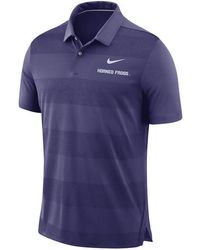 Nike - Texas Christian Horned Frogs Early Season Coaches Polo - Lyst