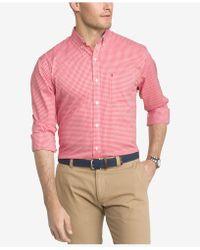 Izod - Saltwater Oxford Dress Shirt - Lyst