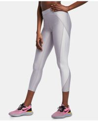 c8cbb6be276752 Nike - Speed Power Colorblocked Metallic Ankle Running Leggings - Lyst