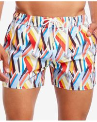 eacbc901fe53d 2xist 2(x)ist Fiesta Striped Ibiza Swim Short in Red for Men - Lyst