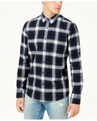 American Rag - Ian Plaid Shirt, Created For Macy's - Lyst