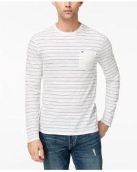 Tommy Hilfiger - Men's Woodson Stripe T-shirt - Lyst