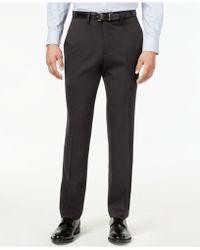 Kenneth Cole Reaction - Men's Slim-fit Stretch Gabardine Dress Pants - Lyst
