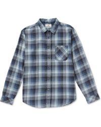 Billabong - Freemont Regular-fit Plaid Flannel Shirt - Lyst