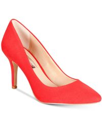 INC International Concepts - Zitah Pointed Toe Pumps, Created For Macy's - Lyst