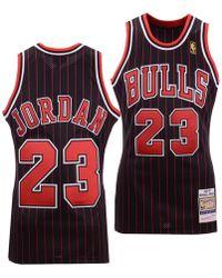 cde1f3f283e Mitchell & Ness Scottie Pippen Chicago Bulls Split Swingman Jersey in Red  for Men - Lyst