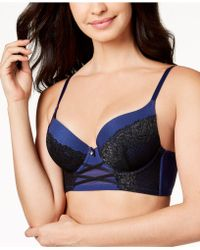 INC International Concepts - I.n.c. Lace Corset Longline Bra, Created For Macy's - Lyst