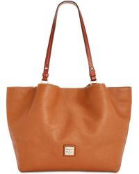 Dooney & Bourke - Flynn Leather Tote - Lyst