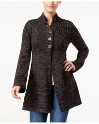 Style & Co. - Fit & Flare Cardigan Jacket - Lyst