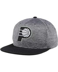 Mitchell & Ness - Indiana Pacers Space Knit Snapback Cap - Lyst