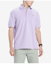 5989d7517 Lyst - Tommy Hilfiger Custom-fit Ivy Polo in Gray for Men