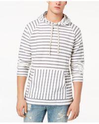 American Rag - Men's Striped Hoodie - Lyst