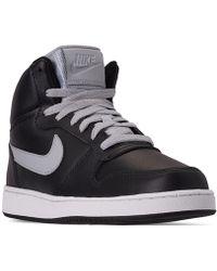 2976ac7899 Lyst - Nike Men s Ebernon High Top Sneaker in White for Men