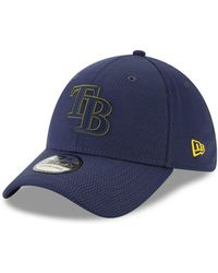 new concept 306bb 791d6 KTZ Tampa Bay Rays Reflective Slugger 39Thirty Cap in Blue for Men - Lyst