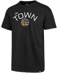 47 Brand - Golden State Warriors Regional Slogan Club T-shirt - Lyst