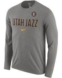 6cd2c51a9 Lyst - Nike Grayson Allen Utah Jazz Icon Player T-shirt in Blue for Men