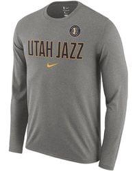 ac7aa2dcb Lyst - Nike Grayson Allen Utah Jazz Icon Player T-shirt in Blue for Men