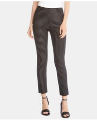 Karen Kane - Piper Pinstriped Ankle Trousers - Lyst