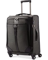 """Hartmann - Closeout! Herringbone Luxe 21"""" Expandable Carry On Spinner Suitcase - Lyst"""