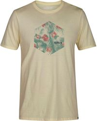 Hurley - Watercolor Graphic-print T-shirt - Lyst