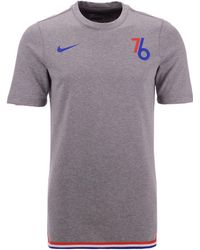 7d15f78c636b Nike Sacramento Kings City Edition Shooting Shirt in Blue for Men - Lyst