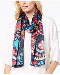Echo - Floral Paisley Scarf - Lyst