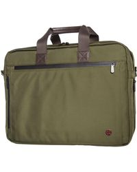 Token Lawrence Large Laptop Bag With Back Zipper - Green